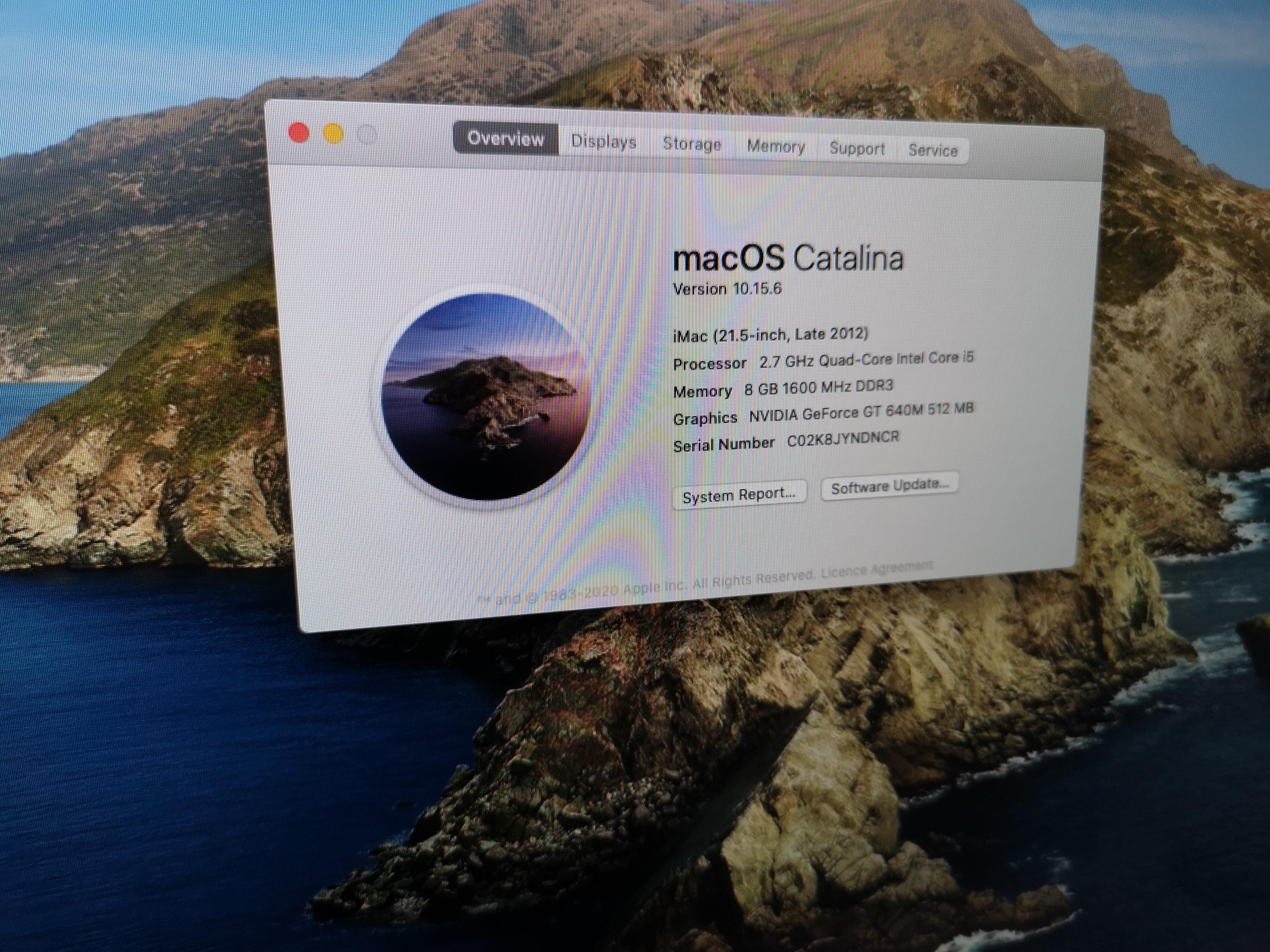 Apple iMac A1418 No 4