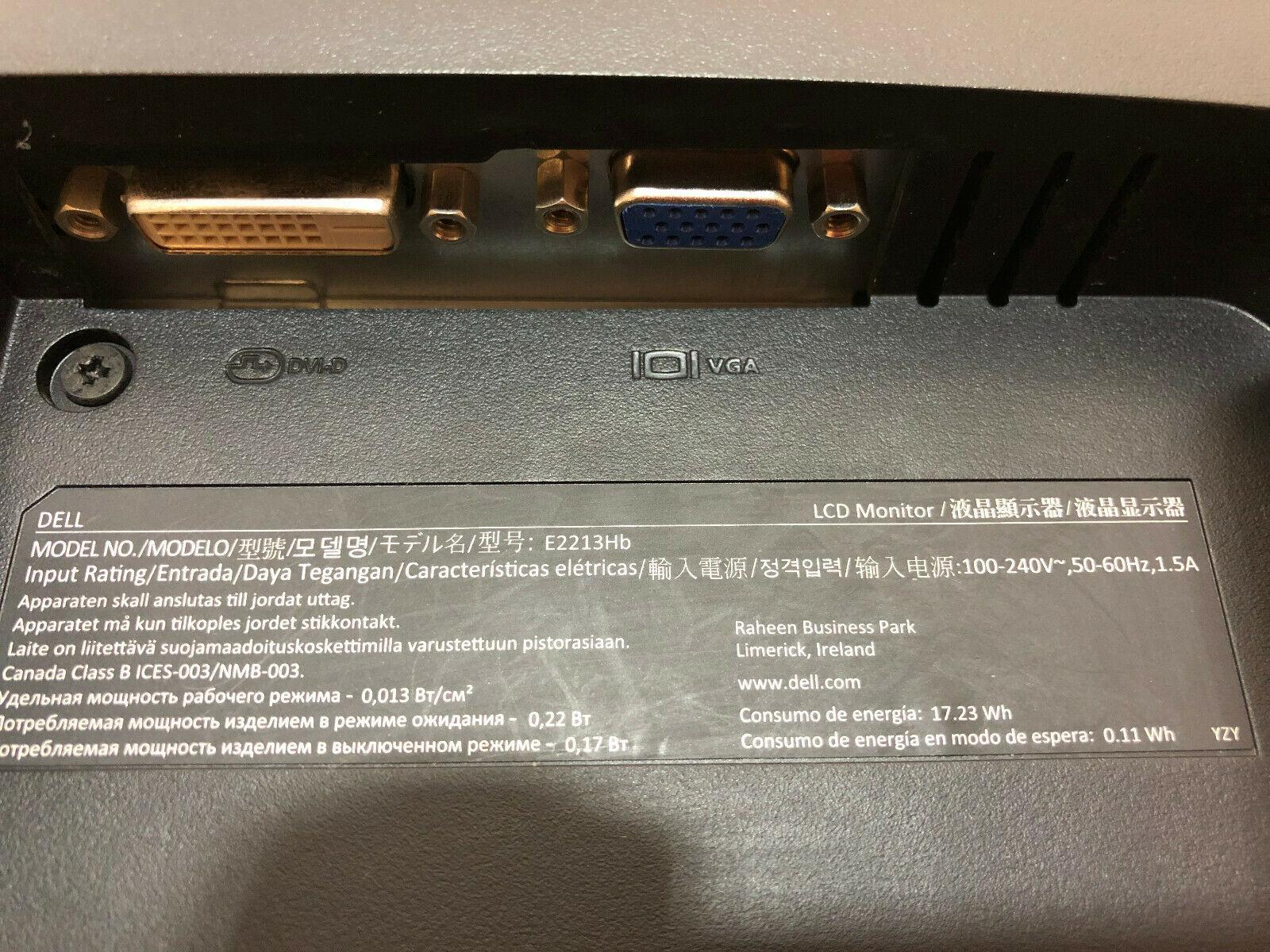 Dell E2213Hb No 5