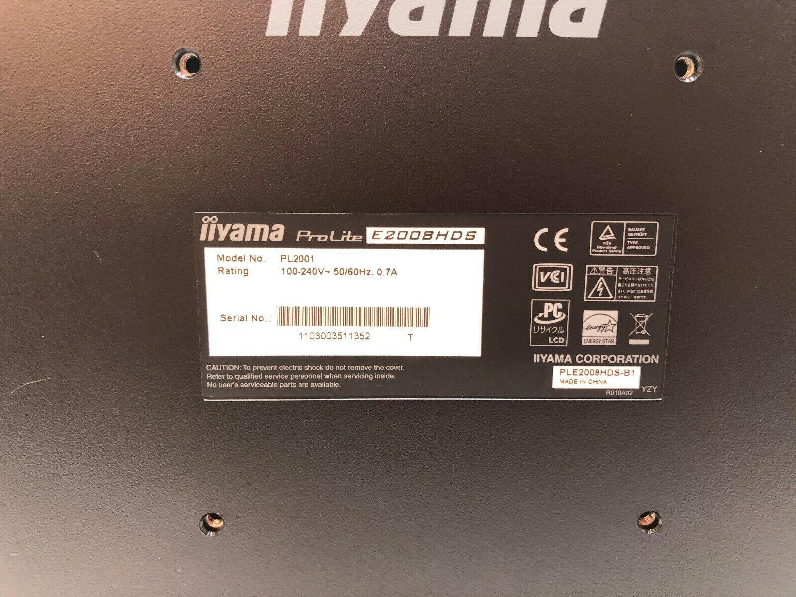 Iiyama Prolite E2008HDS No 4