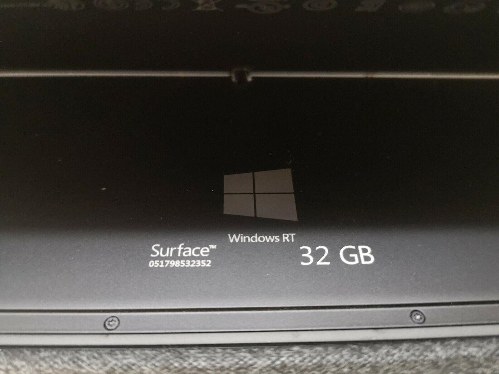 Microsoft Surface 32GB No 4