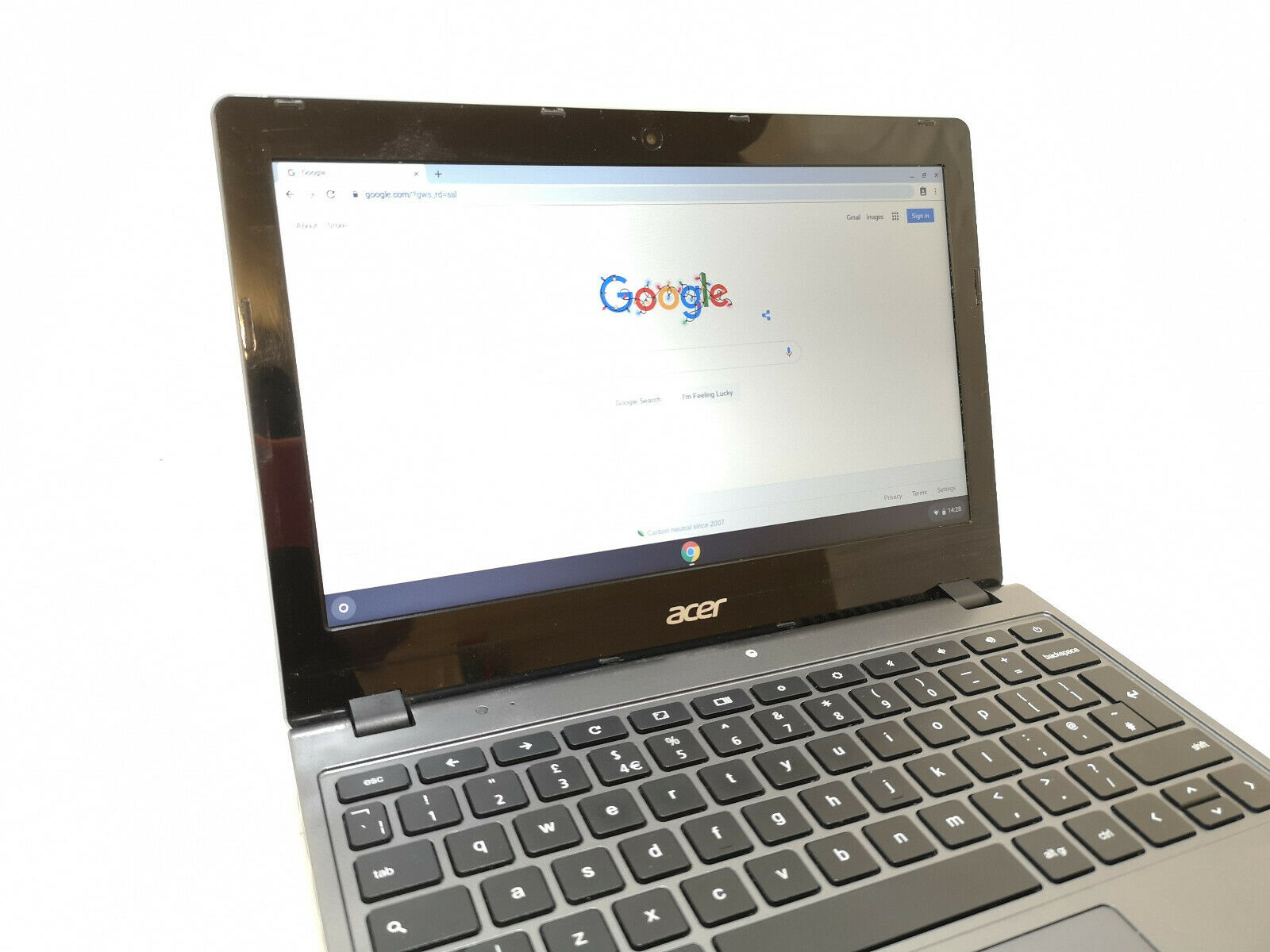 Acer ChromeBook C720 No 3